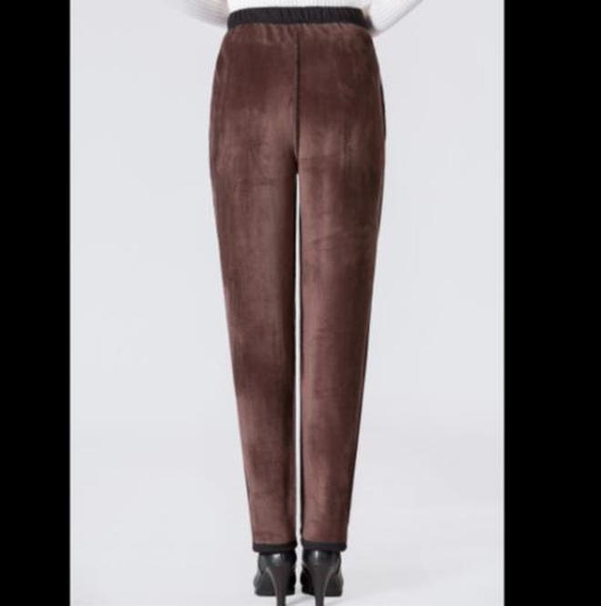 """再見了打底褲!去杭州才知道,滿街都穿""""碎花雪地褲,時髦不凍腿"""