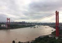 寸灘長江大橋——重慶最高的橋塔