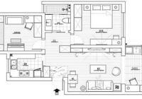 套內78平新房,電視牆設計真機智!全屋簡單裝,帶大家參觀一下!