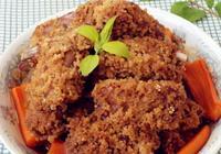 小米蒸排骨最正宗的做法 家常小米蒸排骨的做法