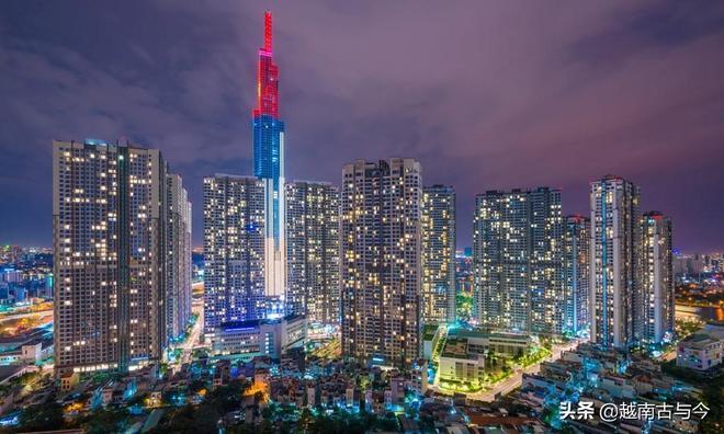 實拍越南最高建築:摩天大樓高達461米,同時也是東南亞最高大廈
