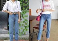 夏天有哪些好看的牛仔褲搭配呢?