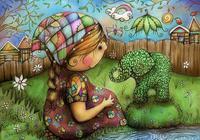 澳大利亞畫家KARIN TAYLOR的兒童插畫