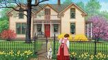 插畫:插畫:美國藝術家JOHN SLOANE唯美鄉村生活畫第二部分
