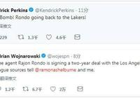 領先Woj三分鐘!帕金斯推特宣佈隆多回歸湖人