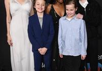 朱莉帶女兒出街,穿飄逸白紗裙女神範盡顯,薇薇安齊肩短髮好可愛