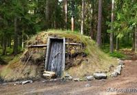 """瑞典這家酒店長得像""""墳墓"""",沒通電沒廁所,遊客們還搶著住"""