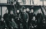 外國攝影師鏡頭下的北洋水師,罕見的鄧世昌與外國海軍合影
