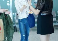 佟麗婭在機場