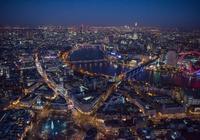 倫敦的夜|攝影:Jason Hawkes 英國·倫敦