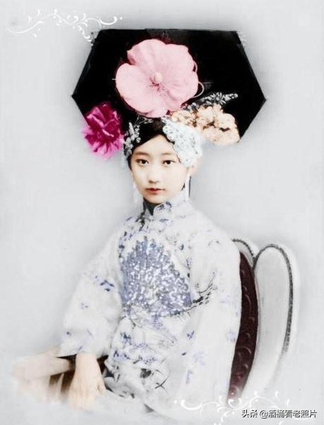 晚清貴族5大高顏值美女:圖3為溥儀守身如玉,溥儀的妹妹真漂亮
