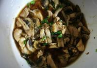 蘑菇雞腿肉