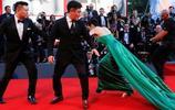 終於有一位中國女星能成功吸引外國記者注意了!網友:全身都是戲
