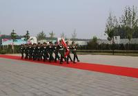 廊坊市消防支隊隆重舉行升旗儀式 慶祝建軍90週年