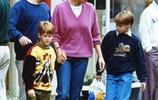 威廉王子從小就懂事!為母親戴安娜王妃拎包,照顧媽媽