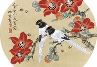 典雅秀麗的喻繼高工筆花鳥小品欣賞
