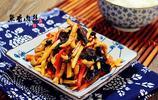 經典川菜-魚香肉絲,肉絲軟嫩、配料脆爽,絕佳的下飯菜