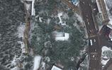 航拍濟南雞年初雪 松林染白美翻了
