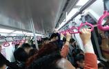 成都地鐵一號線上下班高峰期的擁擠程度在全國也是排得上號的