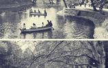 古今中國城市罕見對比照,圖4一百年前的上海外灘,景色更加壯觀