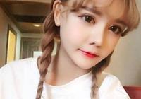 韓安冉親妹妹長大,顏值不輸整容後的姐姐,網友:別學你姐姐