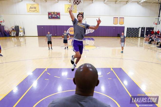 洛杉磯湖人試訓球哥圖集,可能有希望被湖人選中
