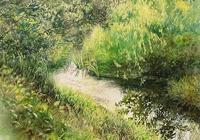 日本水彩畫家星野木綿水彩畫分享~將最美的時光永遠停留在紙上