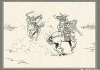 《三國演義》中李傕的武藝如何,蔡陽的武藝如何?
