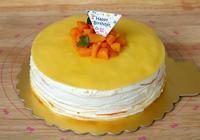 孩子生日我做這蛋糕,不抹面不裱花,平底鍋就能做,花費不到50元