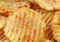 家庭自制薯片,做起來很簡單,但是味道也是一點也不必賣的薯片差