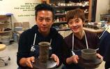 明星做陶藝!趙麗穎手藝十分嫻熟,陳坤在陶藝上小有研究!