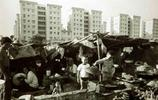 深圳老照片,圖9為漂泊電子廠上班的人群,有年輕時候的你嗎?