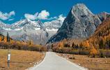 一組十月份的四姑娘山黃金雪山風景,讓你看不一樣的四姑娘山