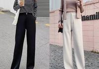 女生直筒褲搭配什麼鞋好看?