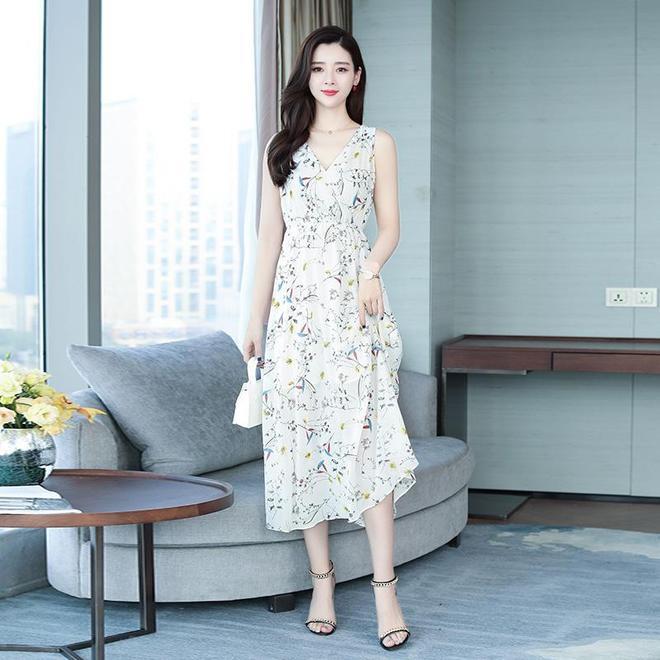 30-50女人都能穿高級雪紡裙,清涼舒適,件件顯嫩又顯氣質