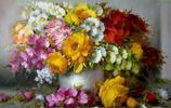 插畫:巴西自學成才的畫家PABLO PICASSO花卉作品,太美了