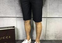 古馳的T恤,配上古馳的短褲,濃郁的英倫風情,怎麼看怎麼帥