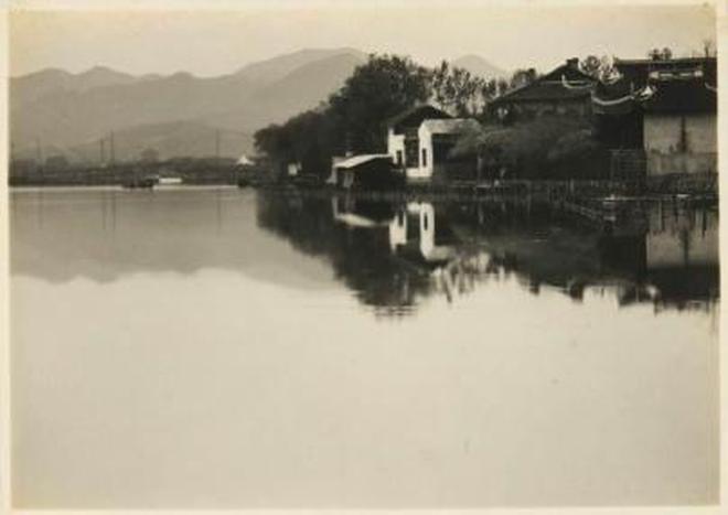 五一節杭州西湖人滿為患,看看20年代的西湖美景如畫