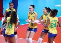 總決賽,美國女排擊敗巴西,半決賽對陣基本出爐,巴西成最大贏家