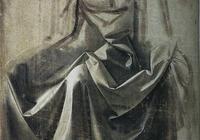大師素描|達芬奇的經典衣紋