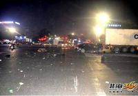 小車闖紅燈後連撞多車,致4人傷8車損!事發北海