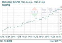 生意社:本週菜籽油價格行情偏強(9.4-9.8)