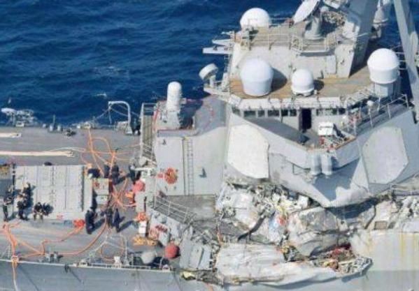 為何軍艦和商船相撞卻是軍艦受傷?是軍艦質量太差麼?