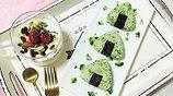 西蘭花飯糰,西蘭花比白花菜的胡蘿蔔素含量要高些