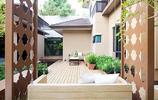 庭院設計:有魚池有水景還有防腐木座椅,這樣的庭院真的舒服極了