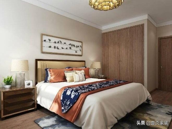 新中式家裝設計,清雅溫潤