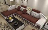 傳統實木沙發已過時,那就用這幾款布藝沙發組合,簡約大氣有面子