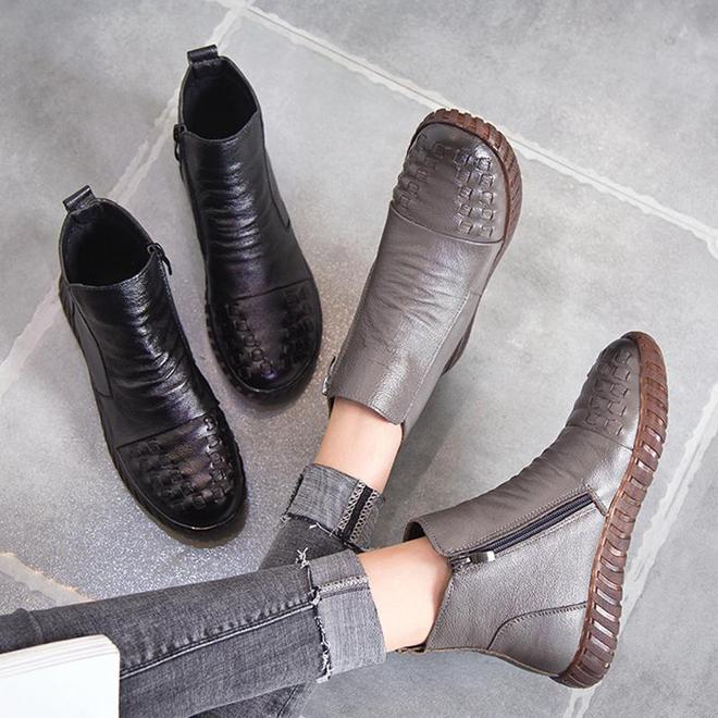 """真漂亮,這""""雪地靴""""終於出新啦,輕便保暖,特適合7080後"""