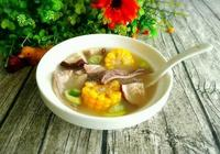香菇玉米肚片湯