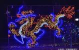 山西永濟:夜遊鸛雀樓之——燈影造型